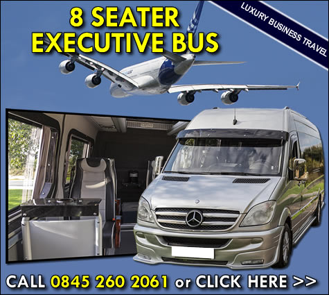 8 seater executive bus hire